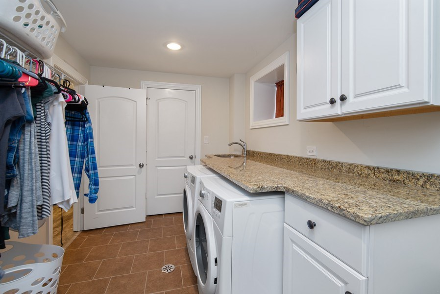 Real Estate Photography - 4825 N Ridgeway Ave, Chicago, IL, 60625 - Laundry Room