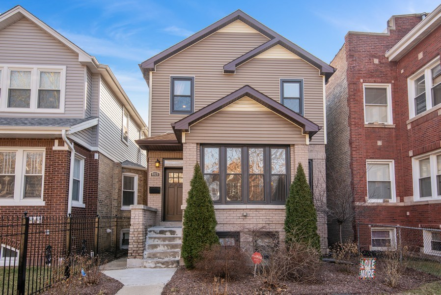 Real Estate Photography - 4825 N Ridgeway Ave, Chicago, IL, 60625 - Front View