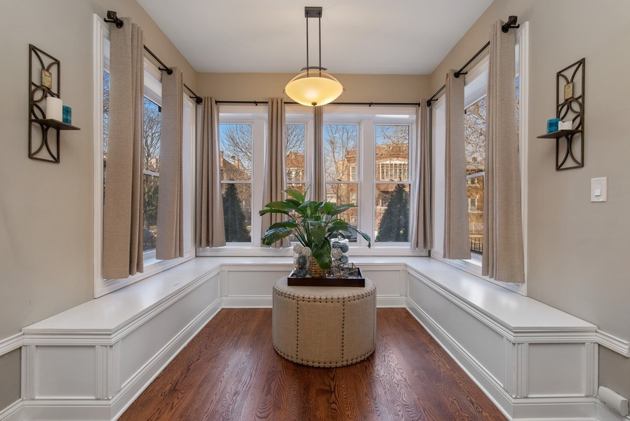 Real Estate Photography - 4825 N Ridgeway Ave, Chicago, IL, 60625 - Sun Room
