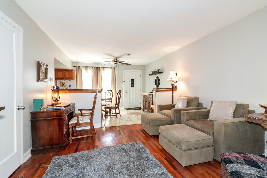 Real Estate Photography - 410 S York Rd, Bensenville, IL, 60106 - Living Room