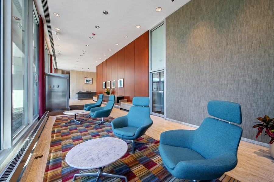 Real Estate Photography - 1700 E 56th St, Unit 3201, Chicago, IL, 60607 - Lobby