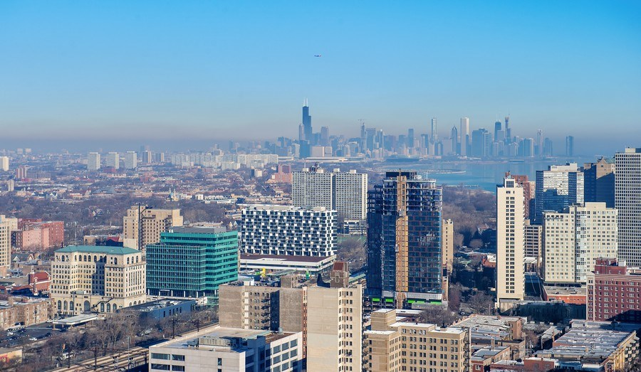 Real Estate Photography - 1700 E 56th St, Unit 3201, Chicago, IL, 60607 - View