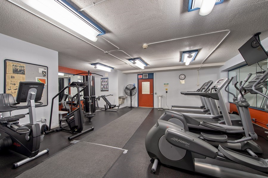 Real Estate Photography - 1700 E 56th St, Unit 3201, Chicago, IL, 60607 - Gym