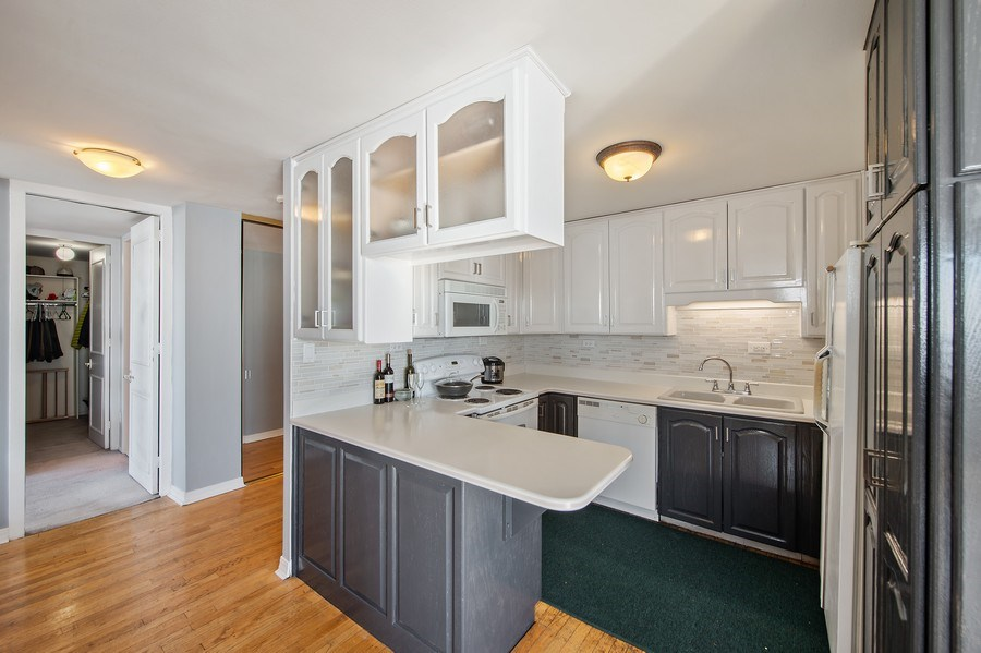 Real Estate Photography - 1700 E 56th St, Unit 3201, Chicago, IL, 60607 - Kitchen