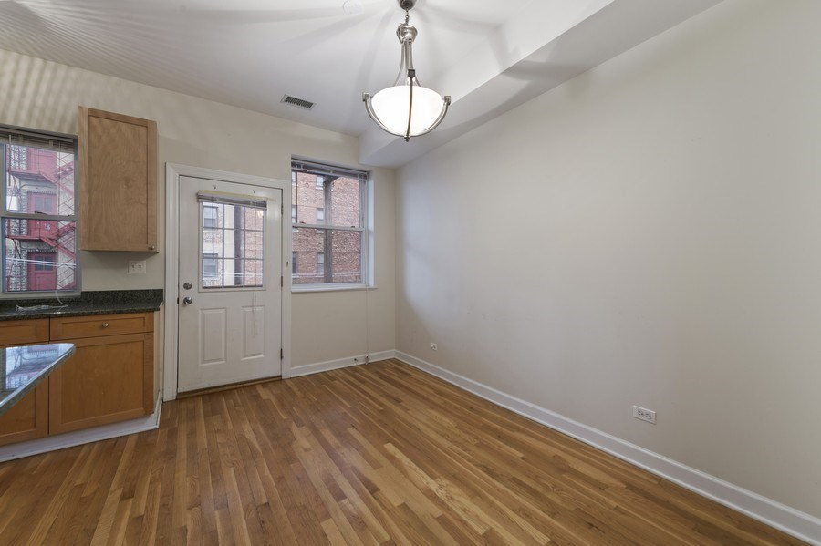 Real Estate Photography - 5529 S Cornell Ave, Unit 3S, Chicago, IL, 60637 - Dining Area