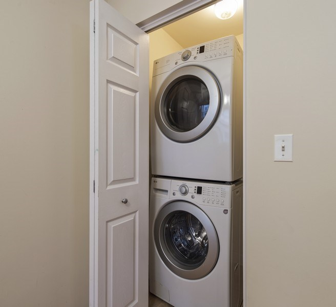 Real Estate Photography - 5529 S Cornell Ave, Unit 3S, Chicago, IL, 60637 - Laundry Room