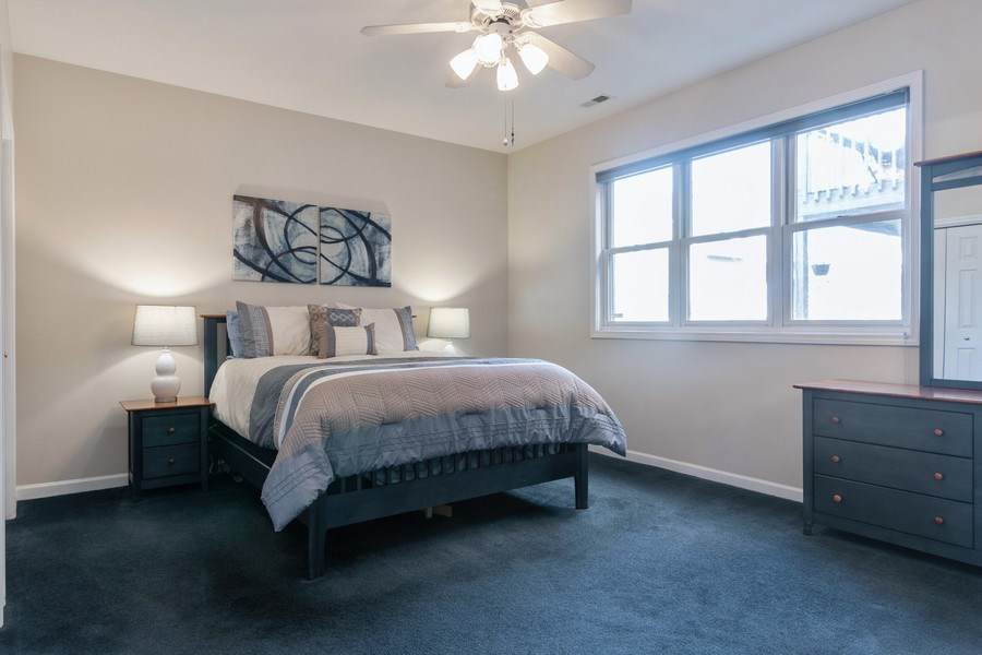 Real Estate Photography - 3924 N Southport, Unit 2 North, Chicago, IL, 60613 - Master Bedroom