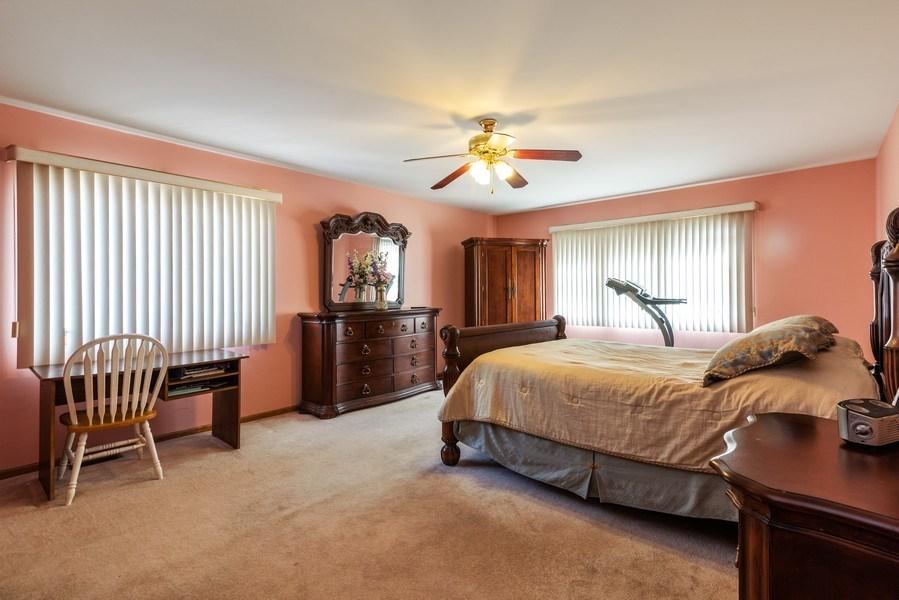 Real Estate Photography - 6040 Carol Ave, Morton Grove, IL, 60053 - Master Bedroom