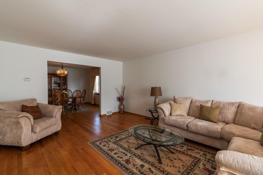 Real Estate Photography - 6040 Carol Ave, Morton Grove, IL, 60053 - Living Room