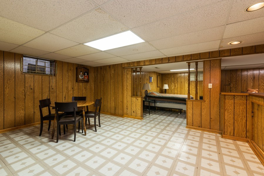 Real Estate Photography - 6040 Carol Ave, Morton Grove, IL, 60053 - Lower Level