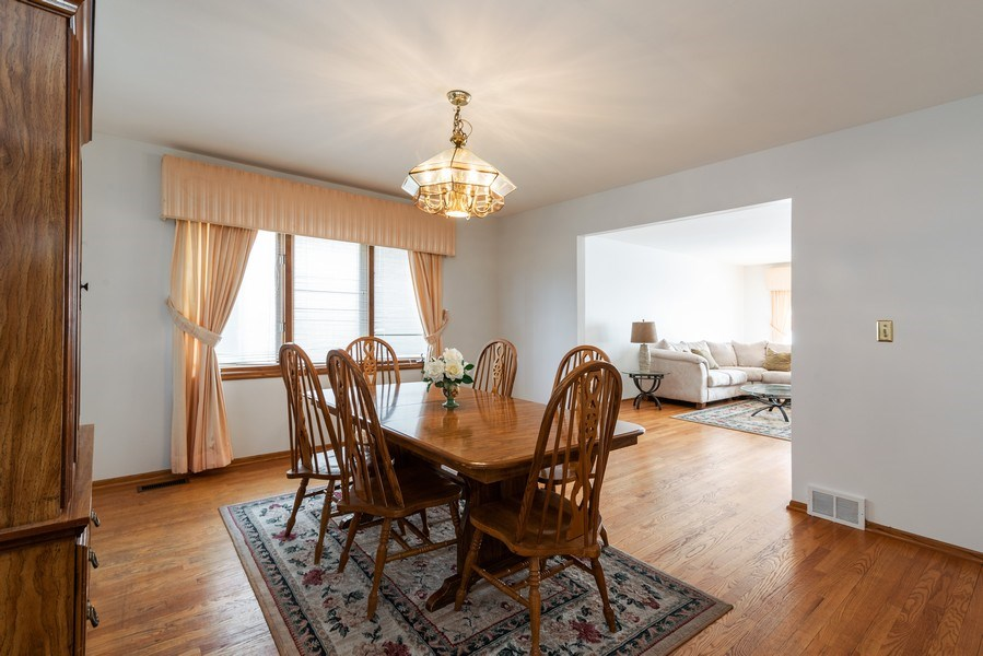 Real Estate Photography - 6040 Carol Ave, Morton Grove, IL, 60053 - Dining Room