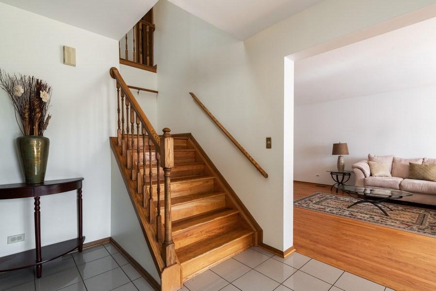 Real Estate Photography - 6040 Carol Ave, Morton Grove, IL, 60053 - Foyer