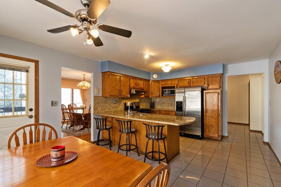 Real Estate Photography - 6040 Carol Ave, Morton Grove, IL, 60053 - Kitchen