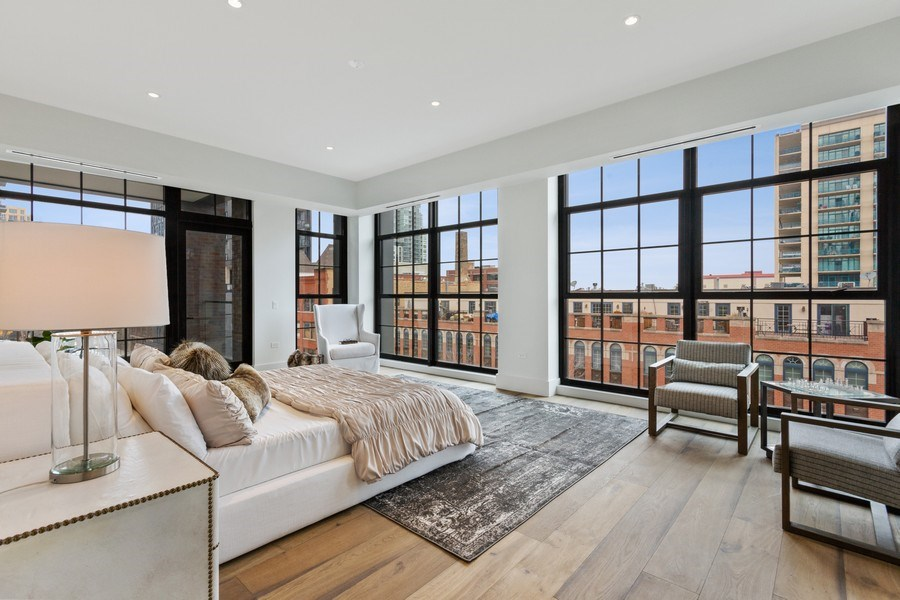 Real Estate Photography - 351 W Huron St, Chicago, IL, 60654 - Master Bedroom