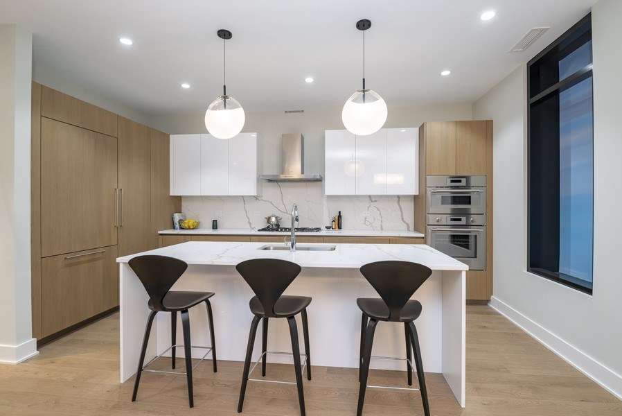 Real Estate Photography - 14 N. Bishop St., Chicago, IL, 60607 - Kitchen