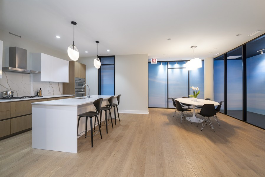 Real Estate Photography - 14 N. Bishop St., Chicago, IL, 60607 - Kitchen / Dining Room