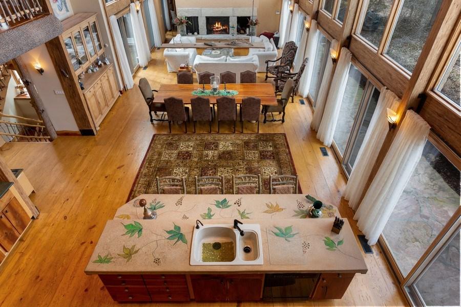 Real Estate Photography - 15157 Lakeshore Road, Lakeside, MI, 49116 - Great Room