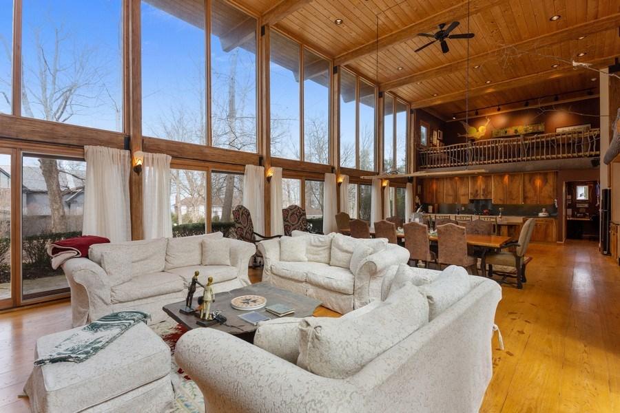 Real Estate Photography - 15157 Lakeshore Road, Lakeside, MI, 49116 - Living Room