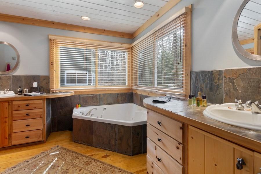 Real Estate Photography - 15157 Lakeshore Road, Lakeside, MI, 49116 - Master Bathroom