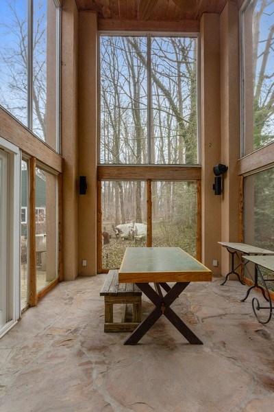 Real Estate Photography - 15157 Lakeshore Road, Lakeside, MI, 49116 - Screened Porch