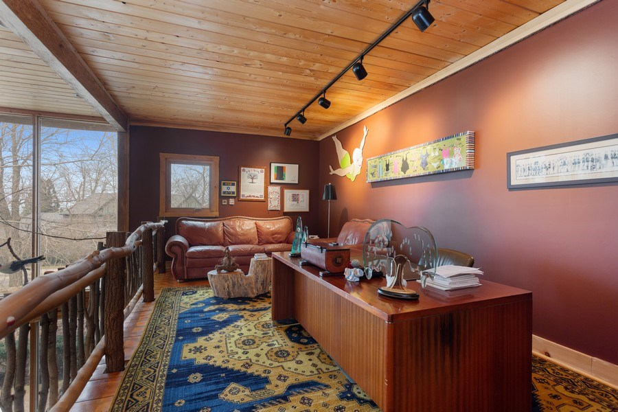 Real Estate Photography - 15157 Lakeshore Road, Lakeside, MI, 49116 - Office