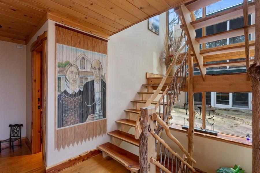 Real Estate Photography - 15157 Lakeshore Road, Lakeside, MI, 49116 - Staircase