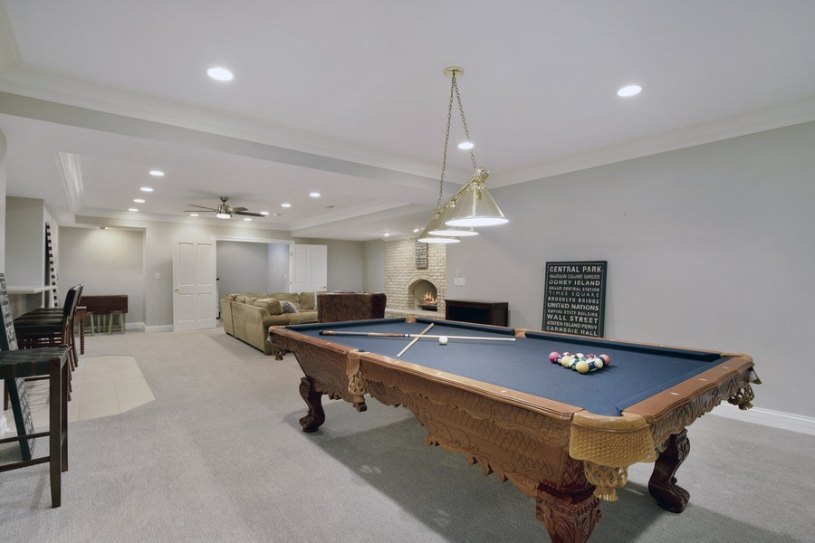 Real Estate Photography - 2021 Tremont Ct, Libertyville, IL, 60048 - Recreational Room