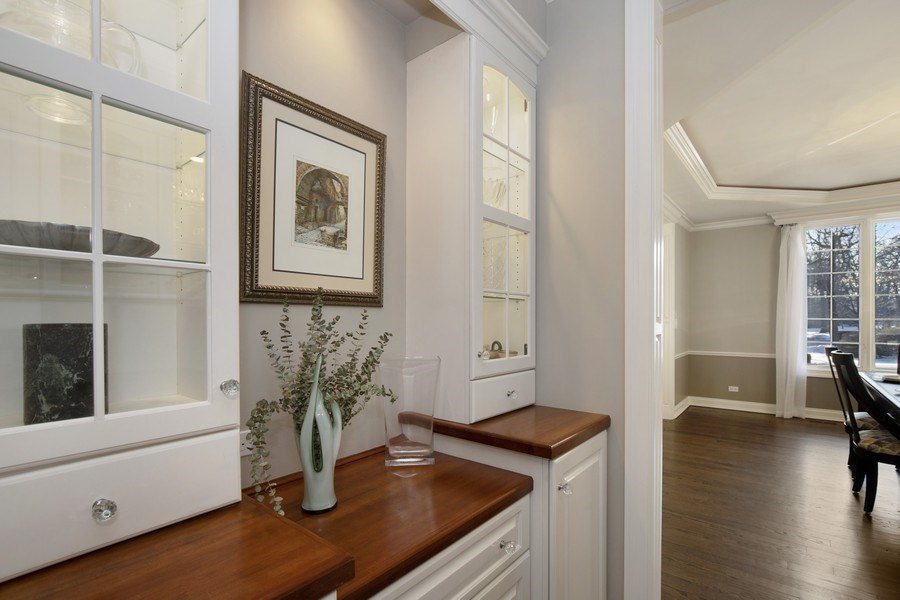 Real Estate Photography - 2021 Tremont Ct, Libertyville, IL, 60048 - Butler's pantry
