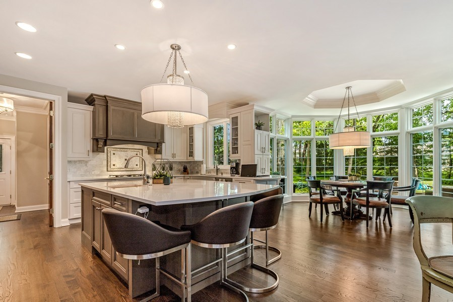 Real Estate Photography - 2021 Tremont Ct, Libertyville, IL, 60048 - Kitchen/Breakfast Room