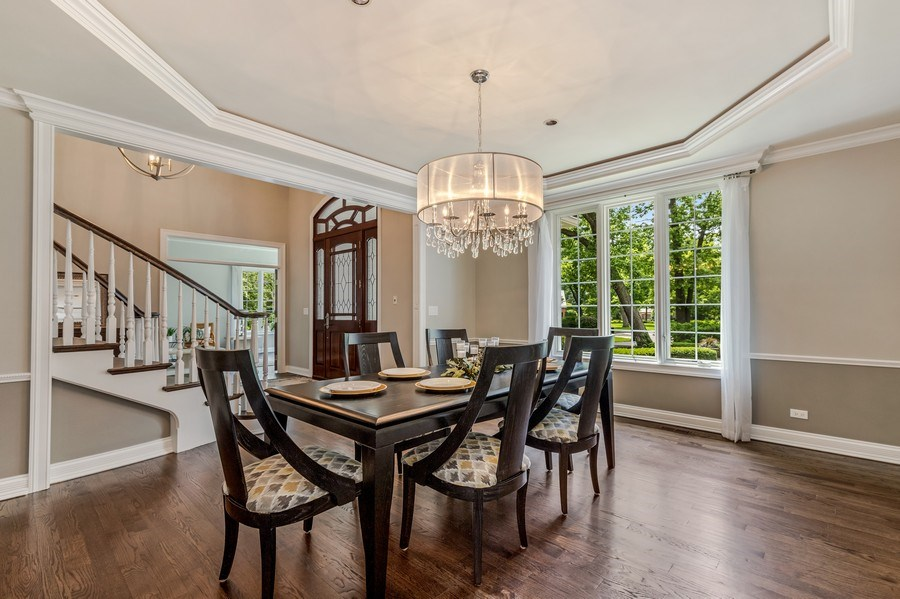 Real Estate Photography - 2021 Tremont Ct, Libertyville, IL, 60048 - Dining Room