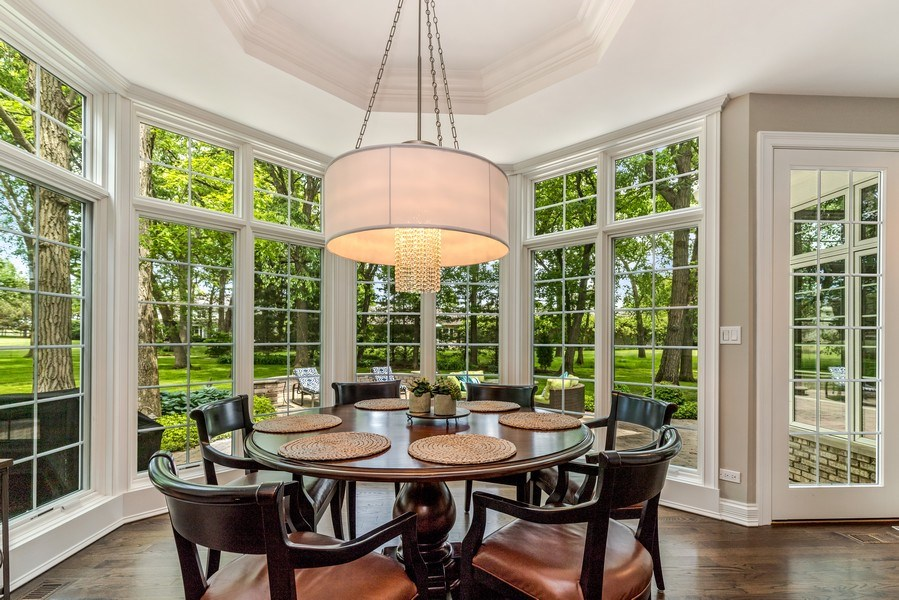 Real Estate Photography - 2021 Tremont Ct, Libertyville, IL, 60048 - Breakfast Room