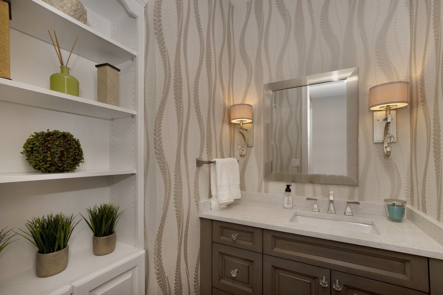 Real Estate Photography - 2021 Tremont Ct, Libertyville, IL, 60048 - Half Bath