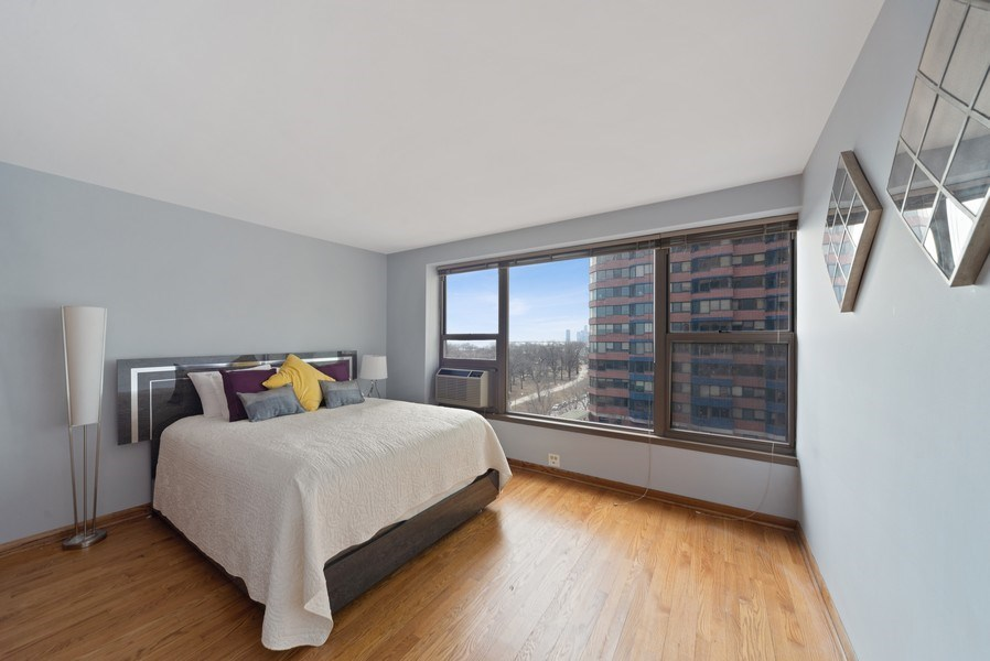 Real Estate Photography - 2970 N. Lake Shore Dr, #9B, Chicago, IL, 60657 - Second Bedroom