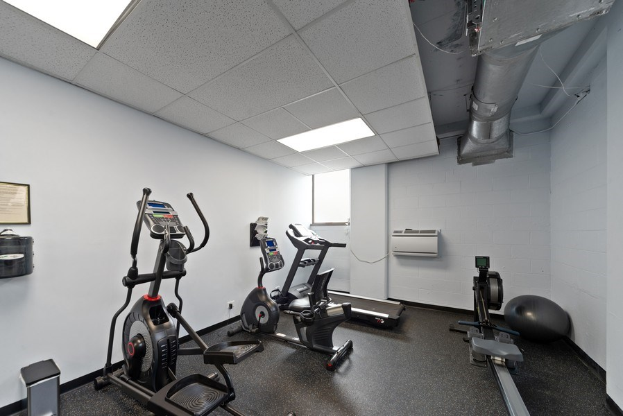 Real Estate Photography - 2970 N. Lake Shore Dr, #9B, Chicago, IL, 60657 - Exercise Room