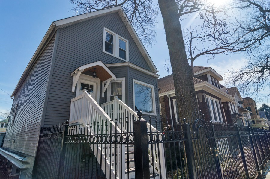 Real Estate Photography - 3943 N. Whipple St., Chicago, IL, 60618 - Front View