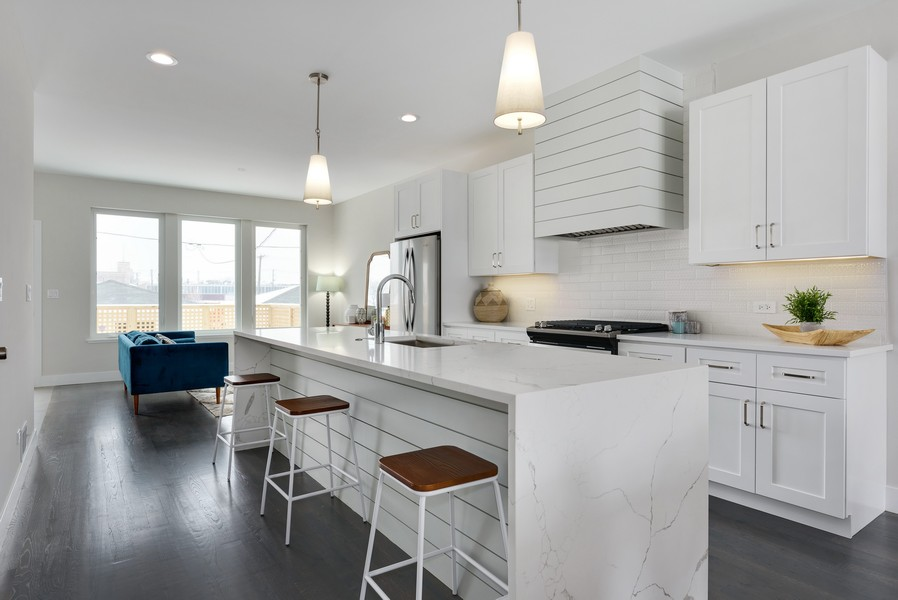 Real Estate Photography - 2548 W. Grenshaw, Chicago, IL, 60612 - Kitchen