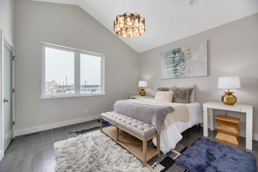 Real Estate Photography - 2548 W. Grenshaw, Chicago, IL, 60612 - Master Bedroom
