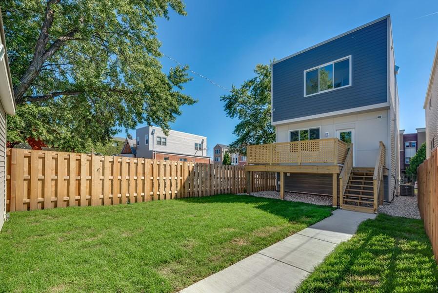 Real Estate Photography - 2548 W. Grenshaw, Chicago, IL, 60612 - Backyard