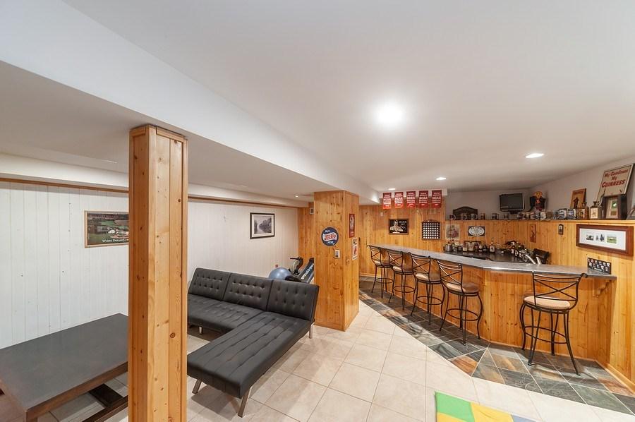Real Estate Photography - 1722 W. Oakton St., Arlington Heights, IL, 60004 - Rec. Rm-Basement