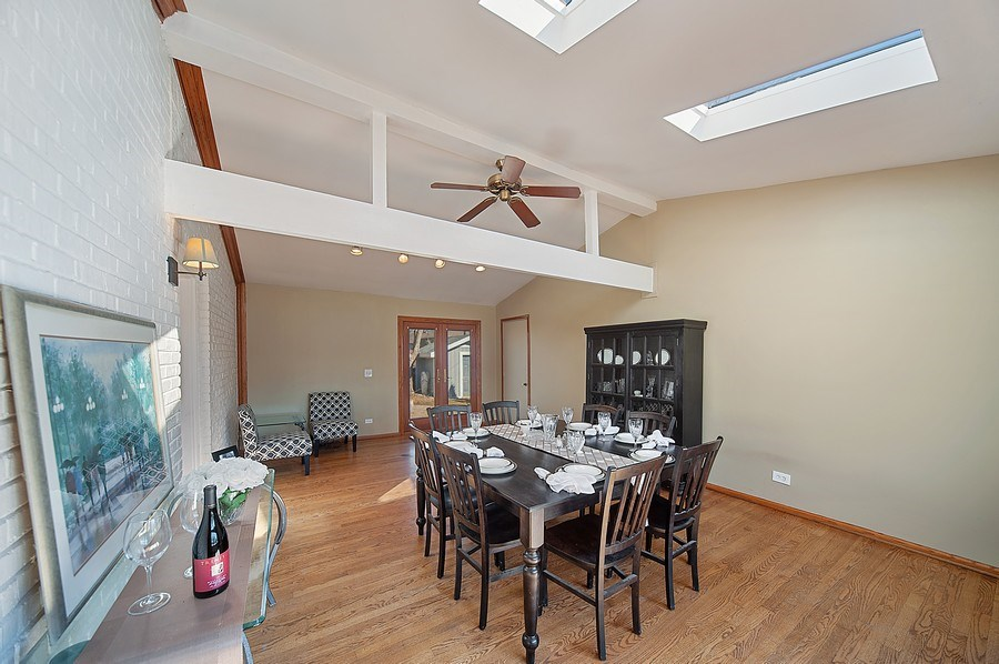 Real Estate Photography - 1722 W. Oakton St., Arlington Heights, IL, 60004 - Family/Dining Rm