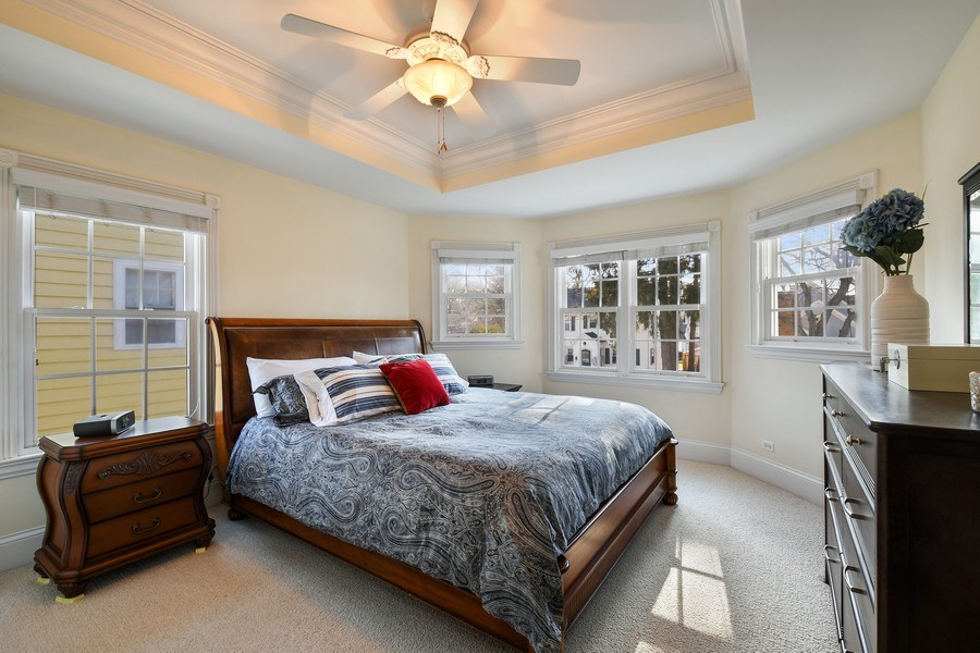 Real Estate Photography - 357 Hirst Court, Lake Bluff, IL, 60044 - Master Bedroom
