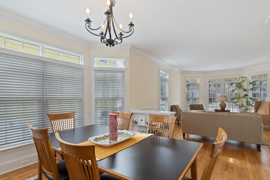 Real Estate Photography - 357 Hirst Court, Lake Bluff, IL, 60044 - Dining Room