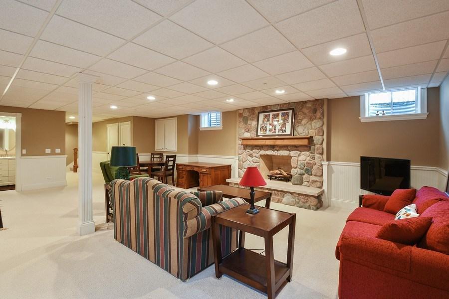 Real Estate Photography - 357 Hirst Court, Lake Bluff, IL, 60044 - Basement