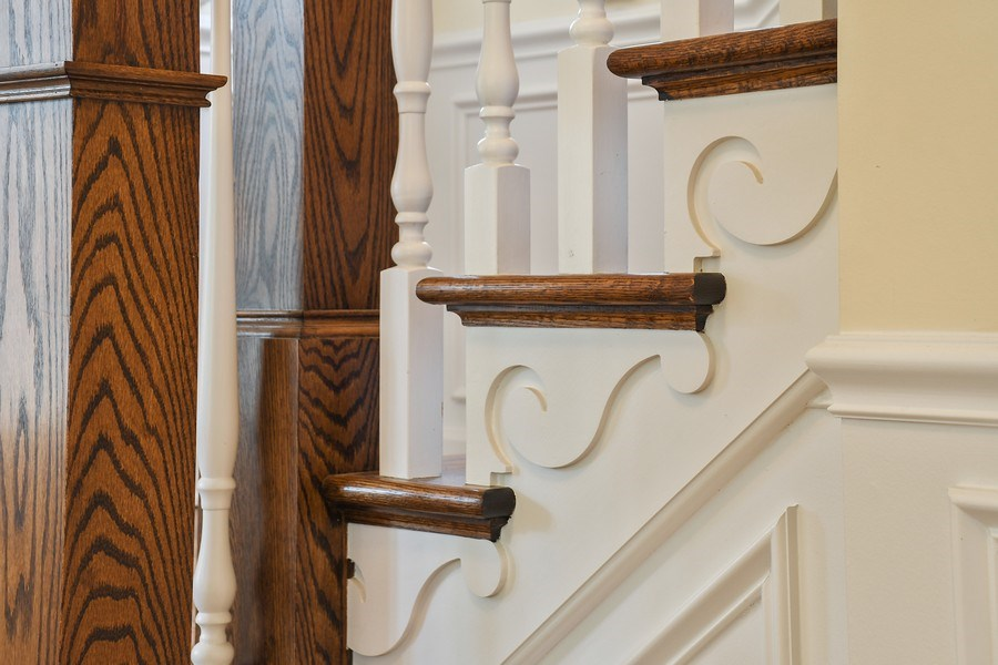 Real Estate Photography - 357 Hirst Court, Lake Bluff, IL, 60044 - Staircase