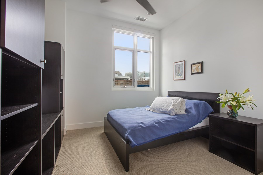 Real Estate Photography - 367 W. Locust, 205, Chicago, IL, 60654 - Third Bedroom