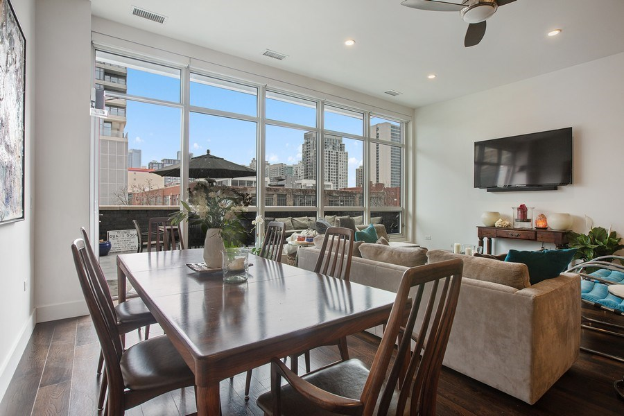 Real Estate Photography - 367 W. Locust, 205, Chicago, IL, 60654 - Dining Area