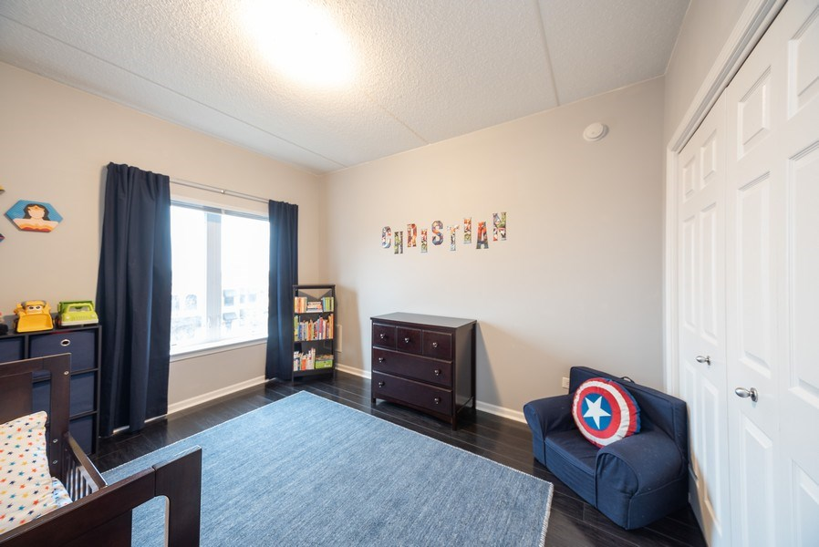 Real Estate Photography - 3401 Carriageway Drive, #406, Arlington Hts, IL, 60004 - 2nd Bedroom