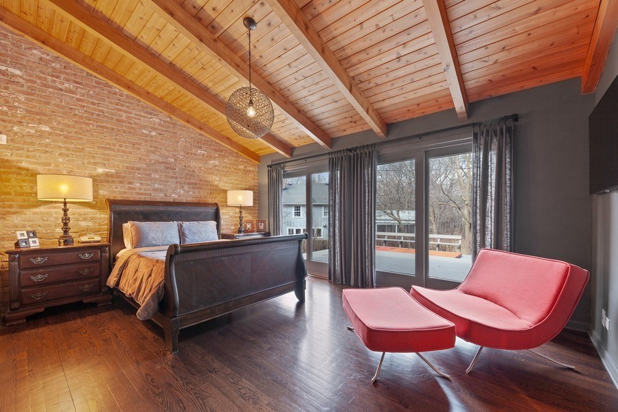 Real Estate Photography - 235 Park Ave, Highland Park, IL, 60035 - Master Bedroom