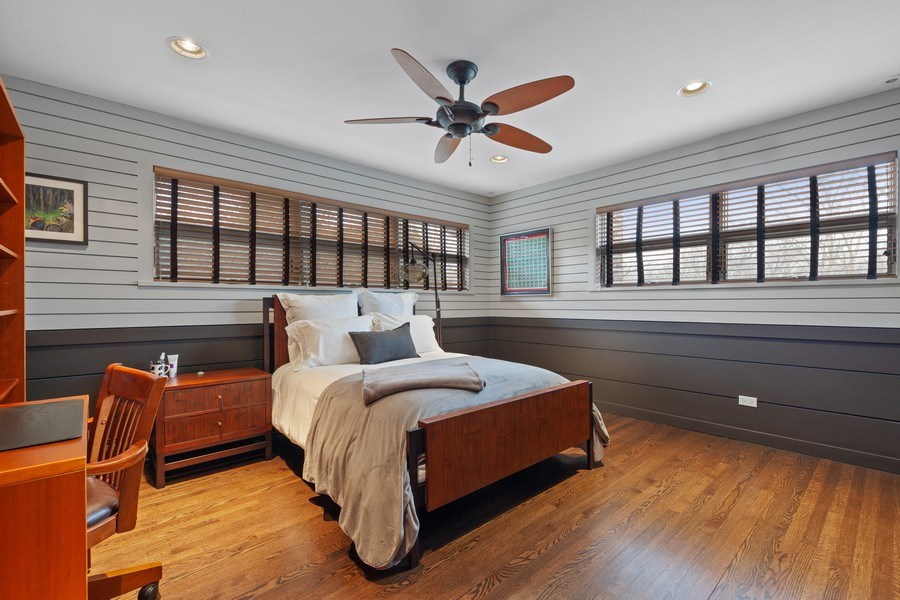 Real Estate Photography - 235 Park Ave, Highland Park, IL, 60035 - 2nd Bedroom