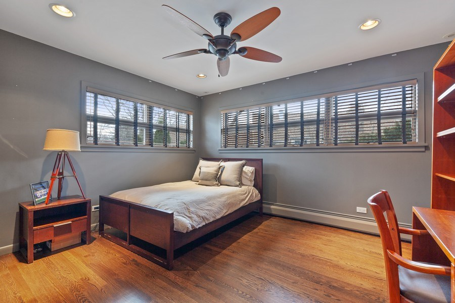 Real Estate Photography - 235 Park Ave, Highland Park, IL, 60035 - 3rd Bedroom